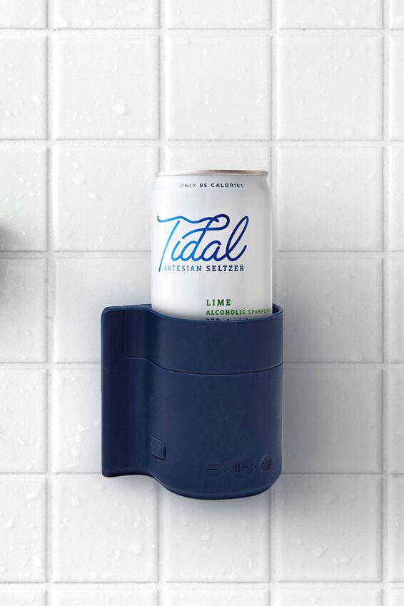 Beer Holder Shower Speaker, NAVY