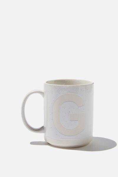 Alpha Daily Mug, CREAM SPECKLED G