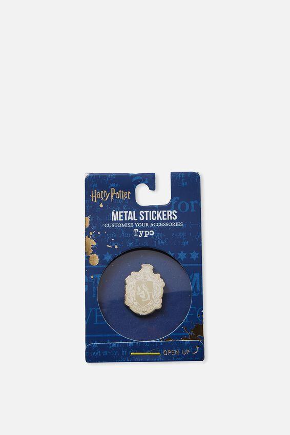 Harry Potter Metal Sticker, LCN WB HPO HUFFLEPUFF