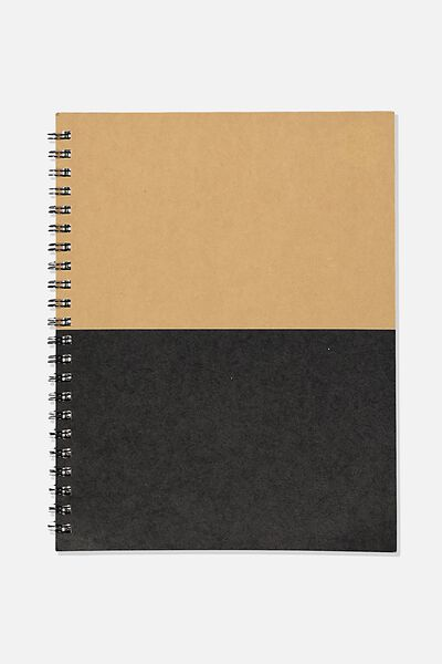 A4 Campus Notebook Recycled, CRAFT SPLICE