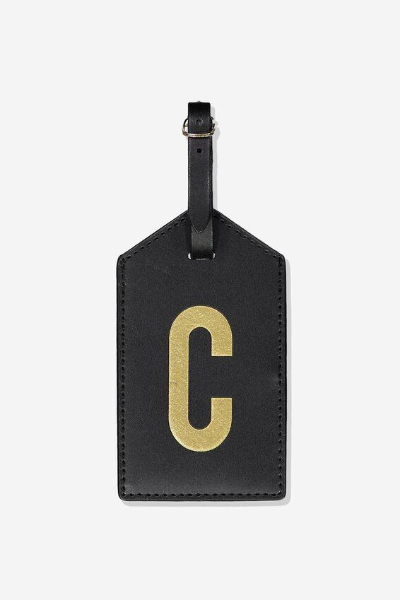 Alpha Luggage Tag, C