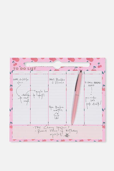 Weekly Planner, CHERRY WEEKLY