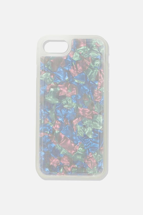 Snap On Protective Phone Case 6, 7, 8, MULTI PEARL