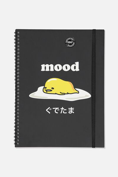 A4 Spinout Notebook Recycled, LCN SAN GU MOOD