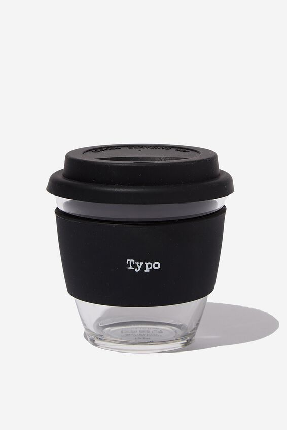 All Day Travel Cup 8Oz, BLACK