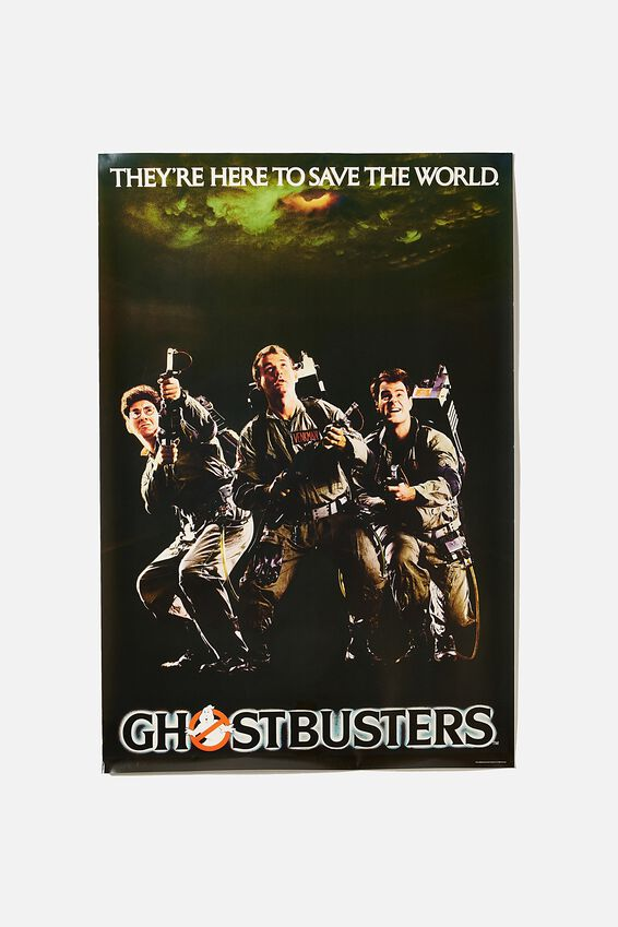 GhostBusters Poster, LCN SON GHOSTBUSTERS