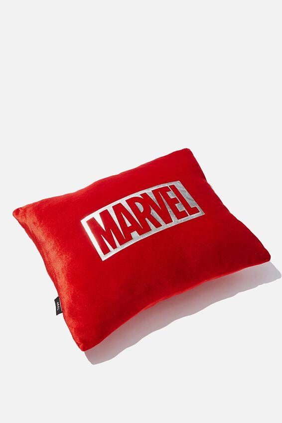Marvel Get Cushy Cushion, LCN MARVEL LOGO