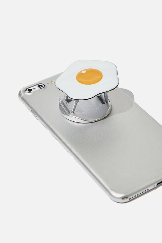Phone Grip, FRIED EGG