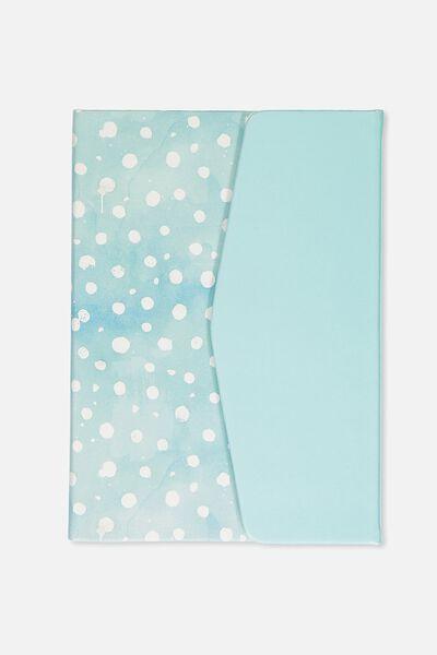 A5 Magnetic Close Journal, BLUE SPOT