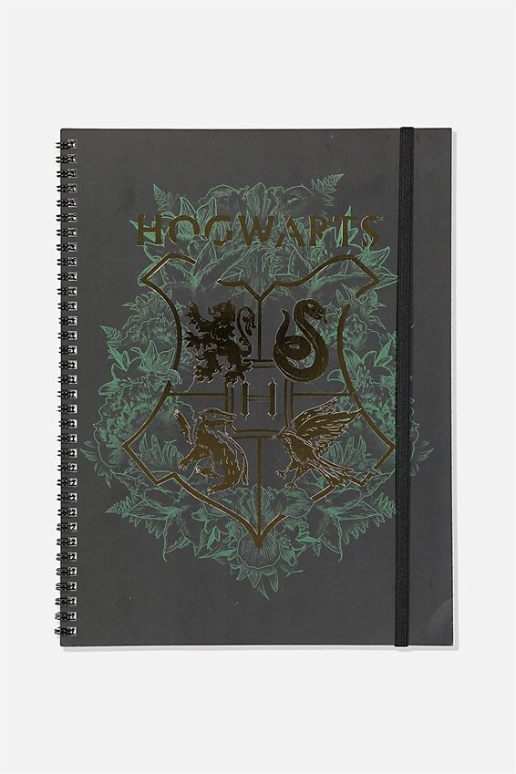 A4 Harry Potter Spinout Notebook Recycled, LCN WB HPO