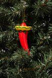 Resin Christmas Ornament, CHILI