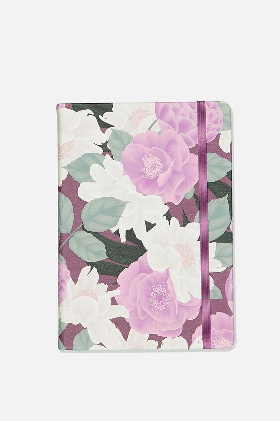 A5 Buffalo Journal, LILAC FLORAL