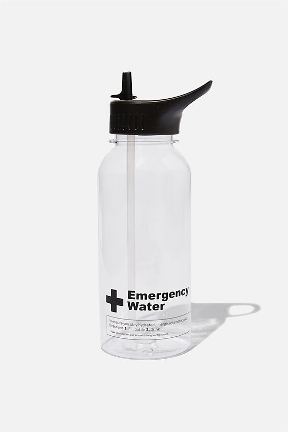 Drink It Up Bottle, EMERGENCY WATER