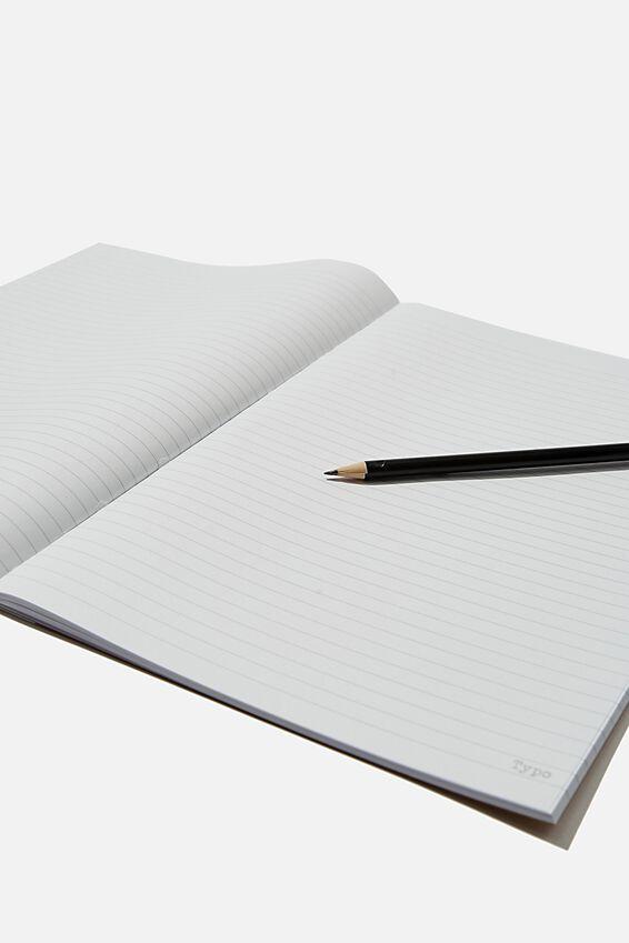 A4 Academy Notebook, REDUCE REUSE