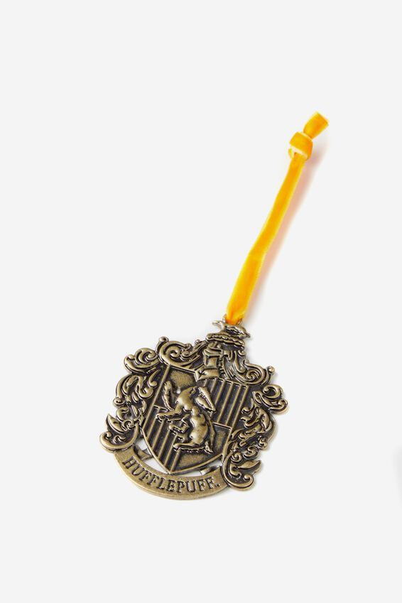 Harry Potter Christmas Ornament, LCN WB HP HUFFLEPUFF