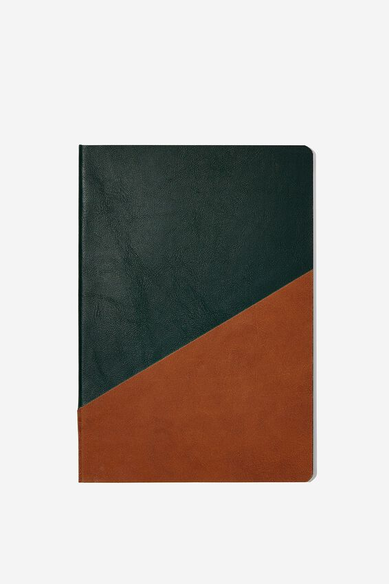 A5 Planner, TAN AND GREEN
