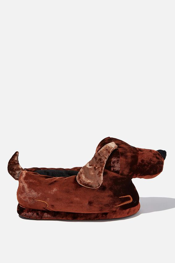 Slippers, DACHSHUND
