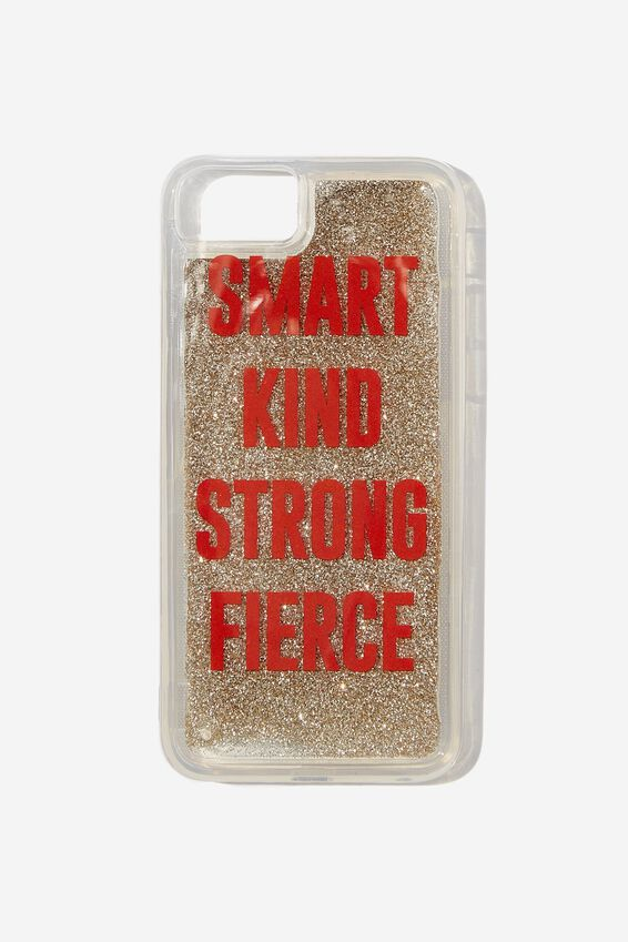 Shake It Phone Case Universal 6,7,8, SMART KIND STRONG