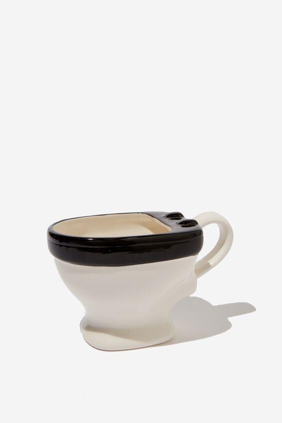 Novelty Shaped Mug, BIG TOILET POOP!
