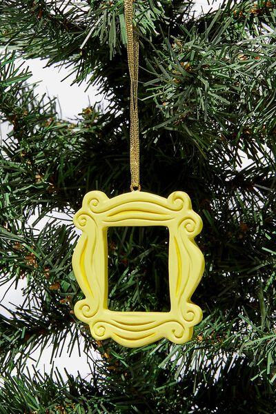 Licensed Christmas Ornament, LCN WB FRIENDS FRAME