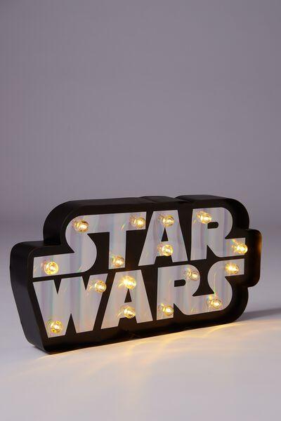 Large Marquee Light, LCN STAR WARS LOGO