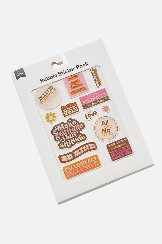 Bubble Sticker Pack, ONLY LOVE!!