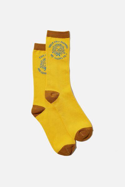 Socks, F#$K THIS RISE & SHINE