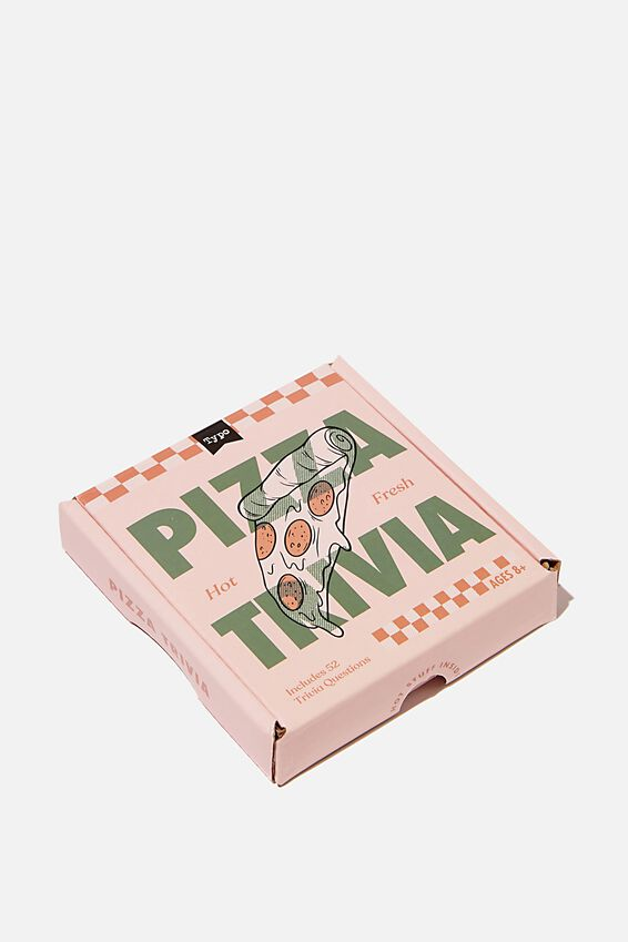 Pocket Trivia Game, PIZZA TRIVIA