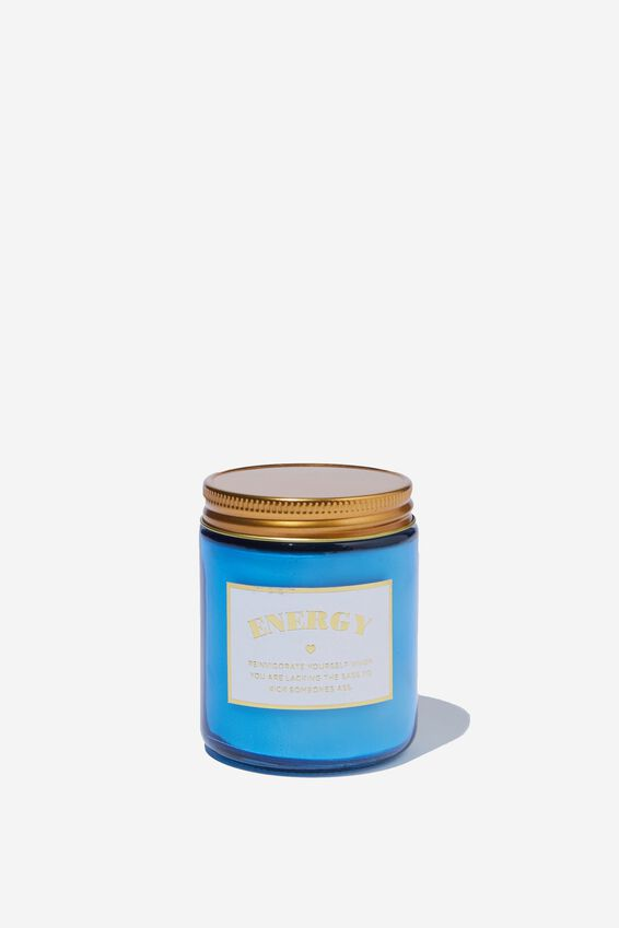 Aura Candle, ENERGY