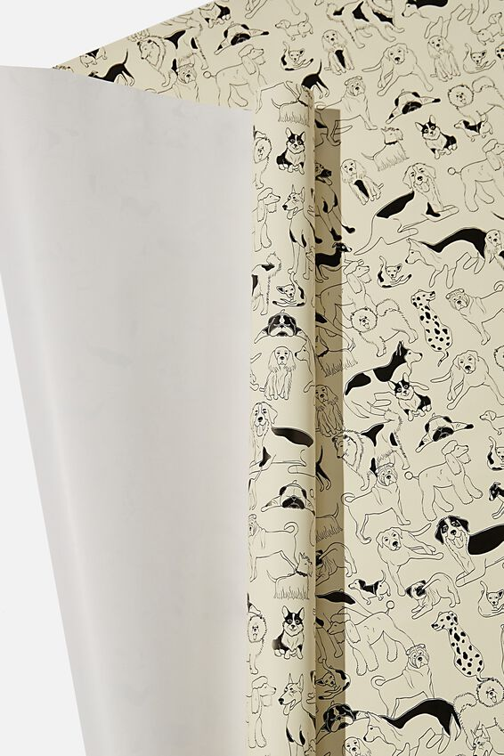 Roll Wrapping Paper, DOGGOS
