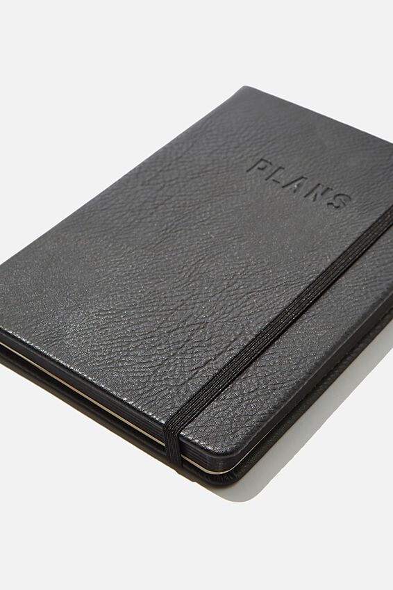 A5 Undated Weekly Buffalo Diary, BLACK
