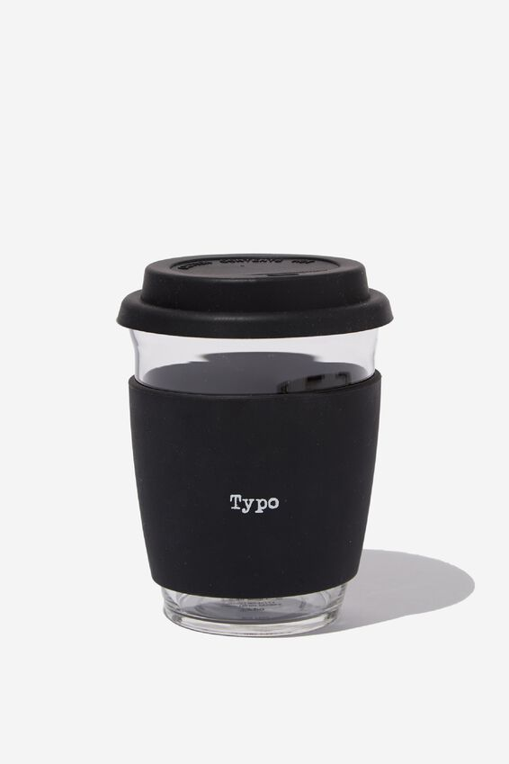 All Day Travel Cup 12Oz, BLACK