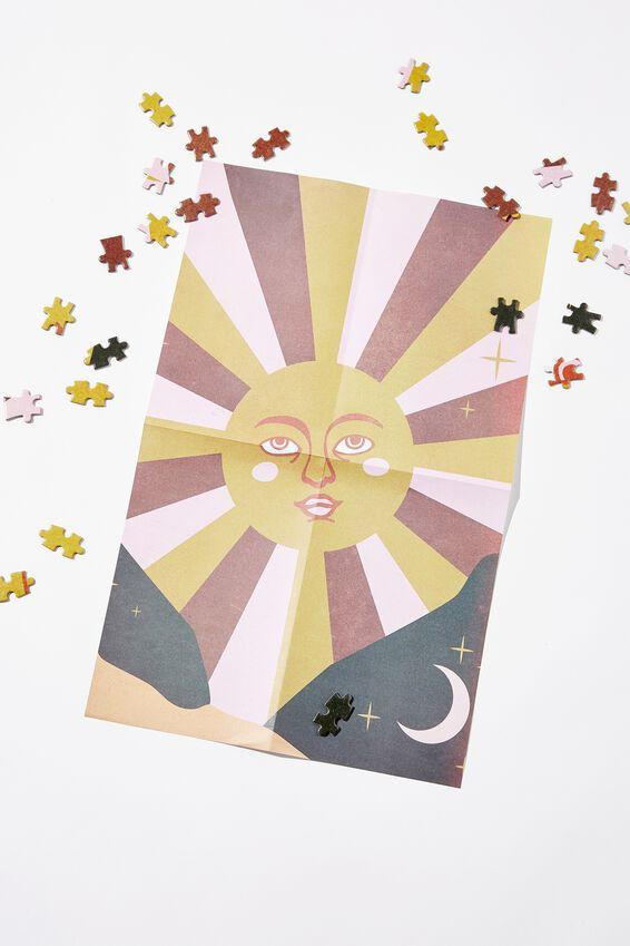 1000 Piece Puzzle, RETRO SUN