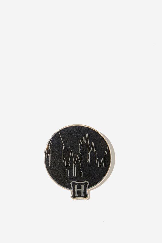 Lcn Enamel Badges, LCN WB HPO HOGWARTS VIEW