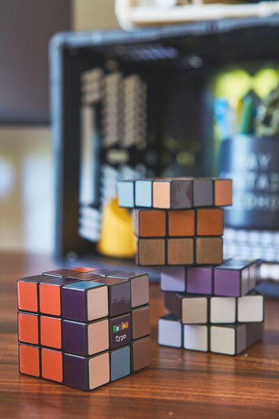 Rubiks Cube 3X3, DARK TONES