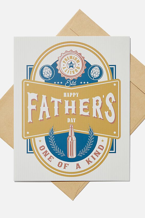 Fathers Day Card 2020, ONE OF A KIND!