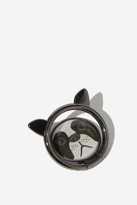 Metal Phone Ring, FRENCH BULLDOG