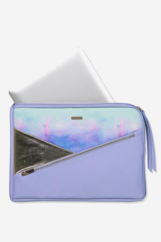 Premium Laptop Case 13 inch, PARADISE WATERCOLOUR