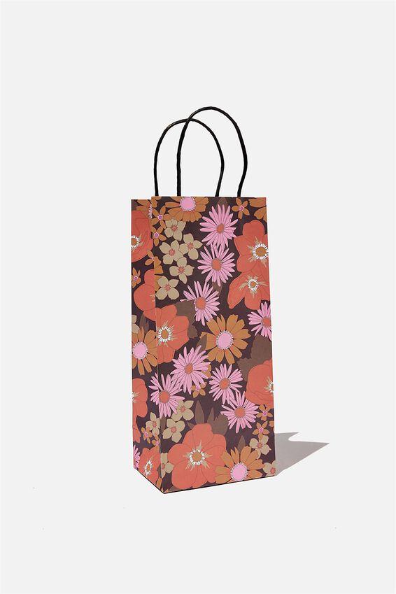 Bottle Gift Bag, STEVIE FLORAL