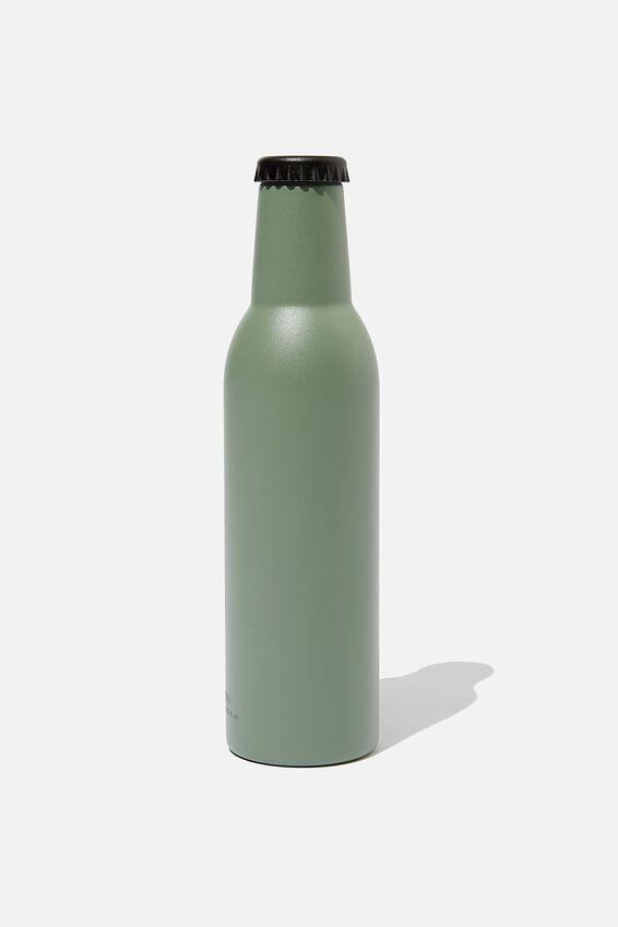 Bottle Top Metal Drink Bottle, EUCALYPT