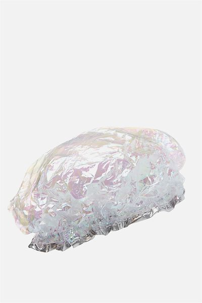 Shower Cap, HOLOGRAPHIC