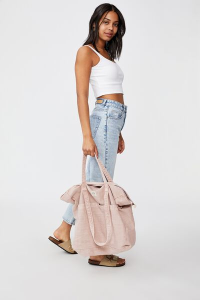 The Studio Tote Bag, NUDE PINK