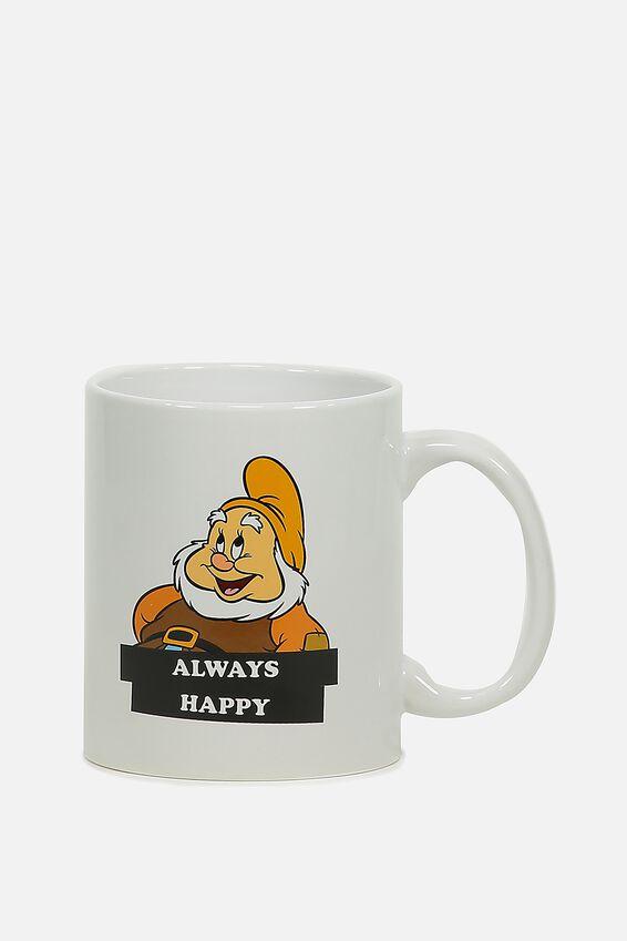 Disney Anytime Mug, LCN SNOW WHITE DWARF HAPPY