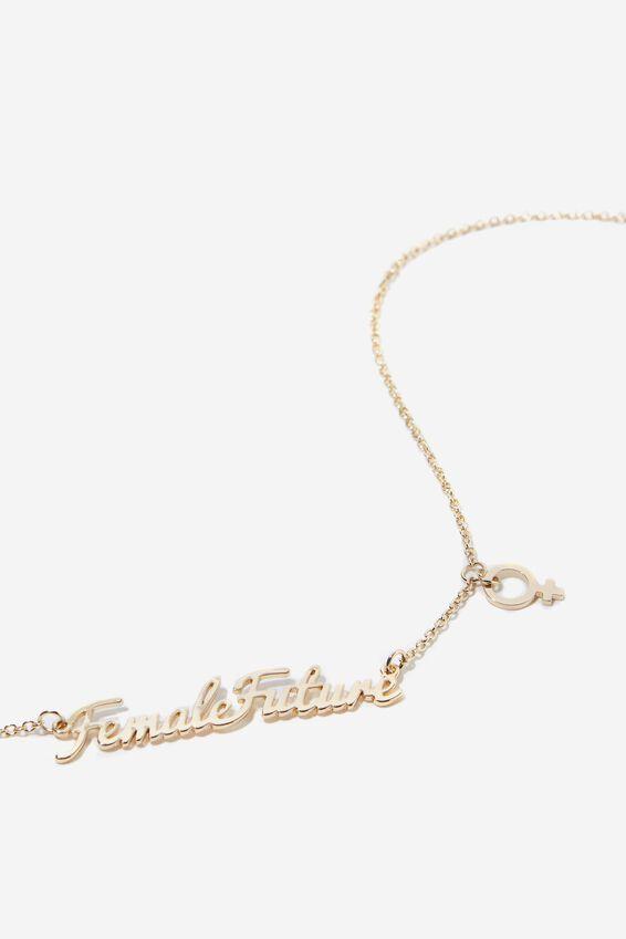 Novelty Necklace, FEMALE FUTURE