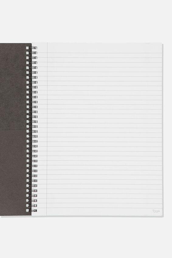 Gudetama A4 Spinout Notebook Recycled, LCN SAN GU MOOD