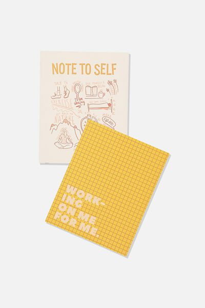 A5 Duo Print Packs, NOTE TO SELF