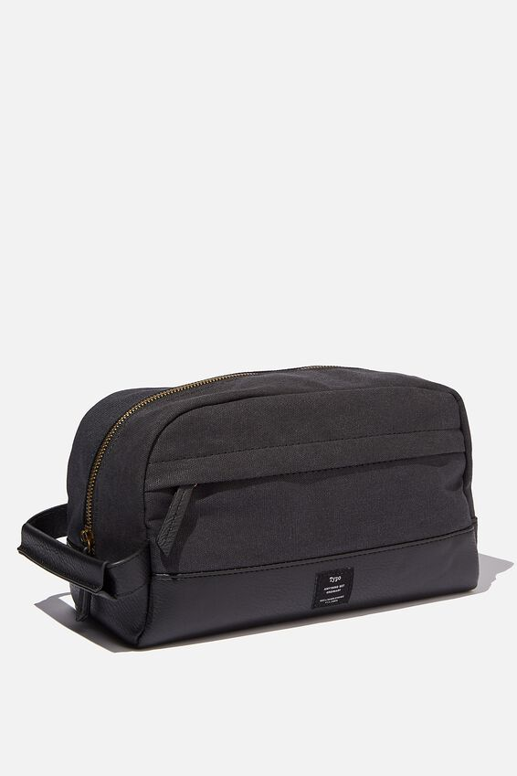 Heritage Dopp Bag, WASHED BLACK