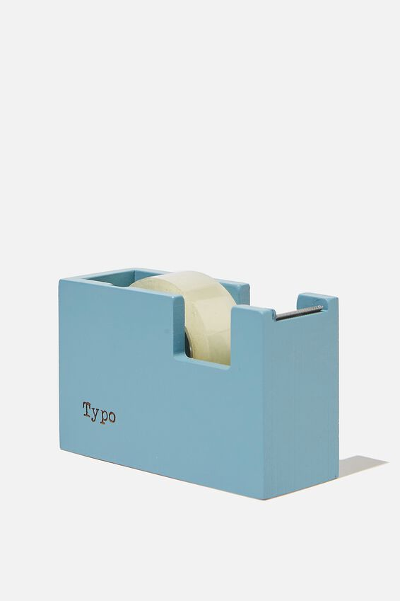 Tape Dispenser, DENIM BLUE