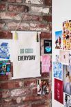 Large Poster Wall Hanging, DO GOOD EVERYDAY