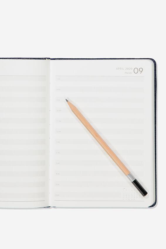 2020 A5 Daily Buffalo Diary, NAVY